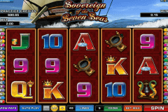 sovereign of the seven seas microgaming casino slot spel