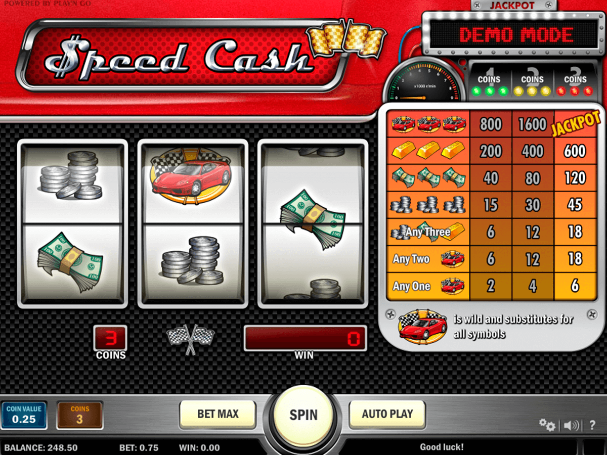speed cash playn go casino slot spel