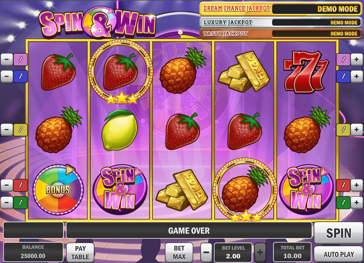 spin and win playn go casino slot spel