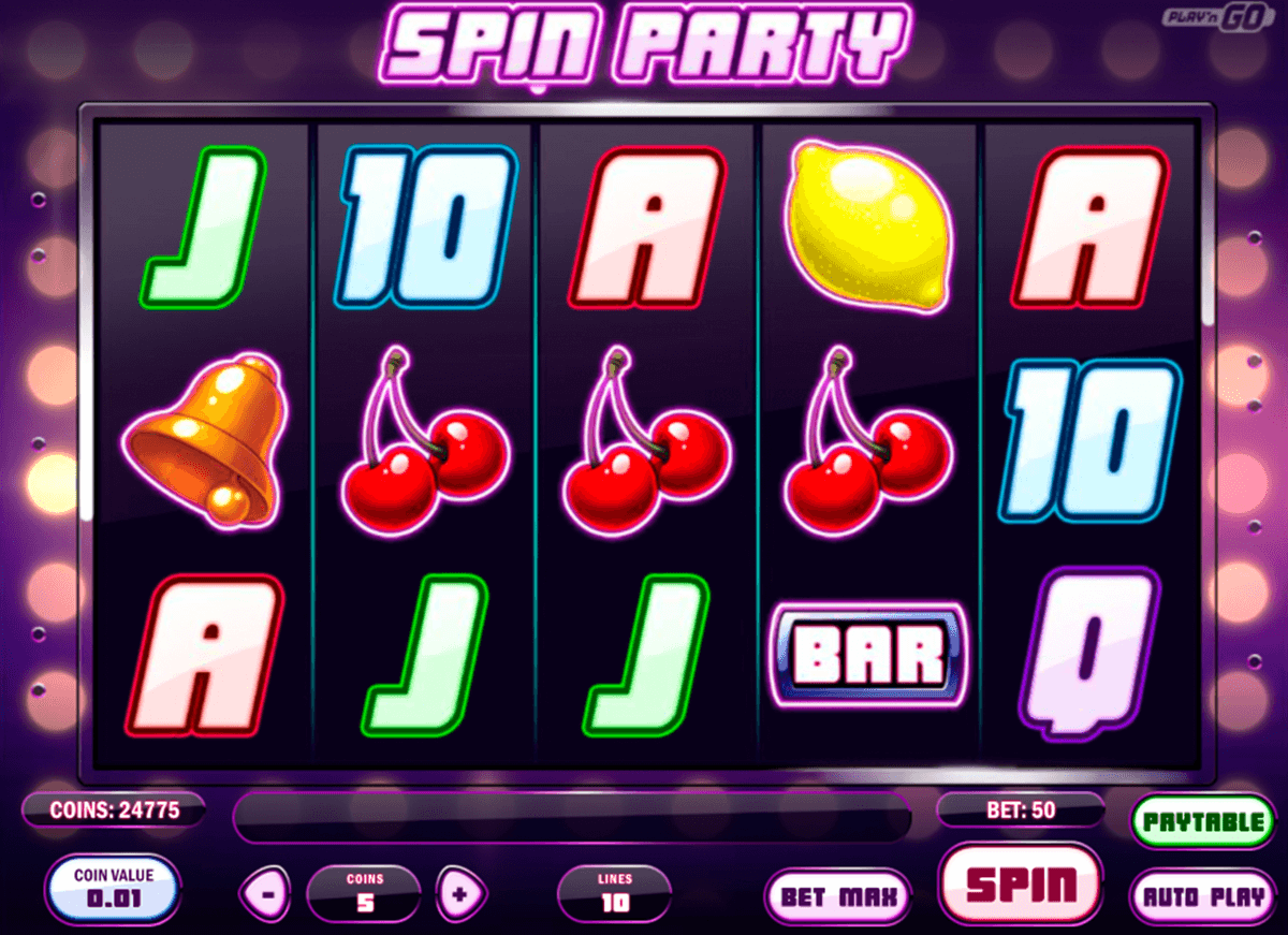 spin party playn go casino slot spel