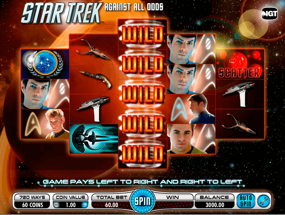 star trek against all odds igt casino slot spel