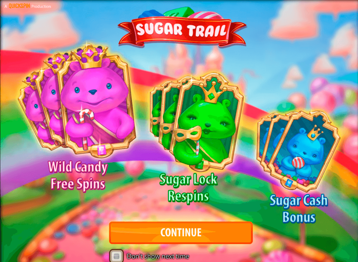 sugar trail quickspin casino slot spel