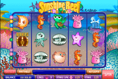 sunshine reef microgaming casino slot spel