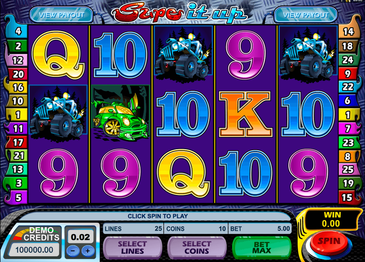 supe it up microgaming casino slot spel