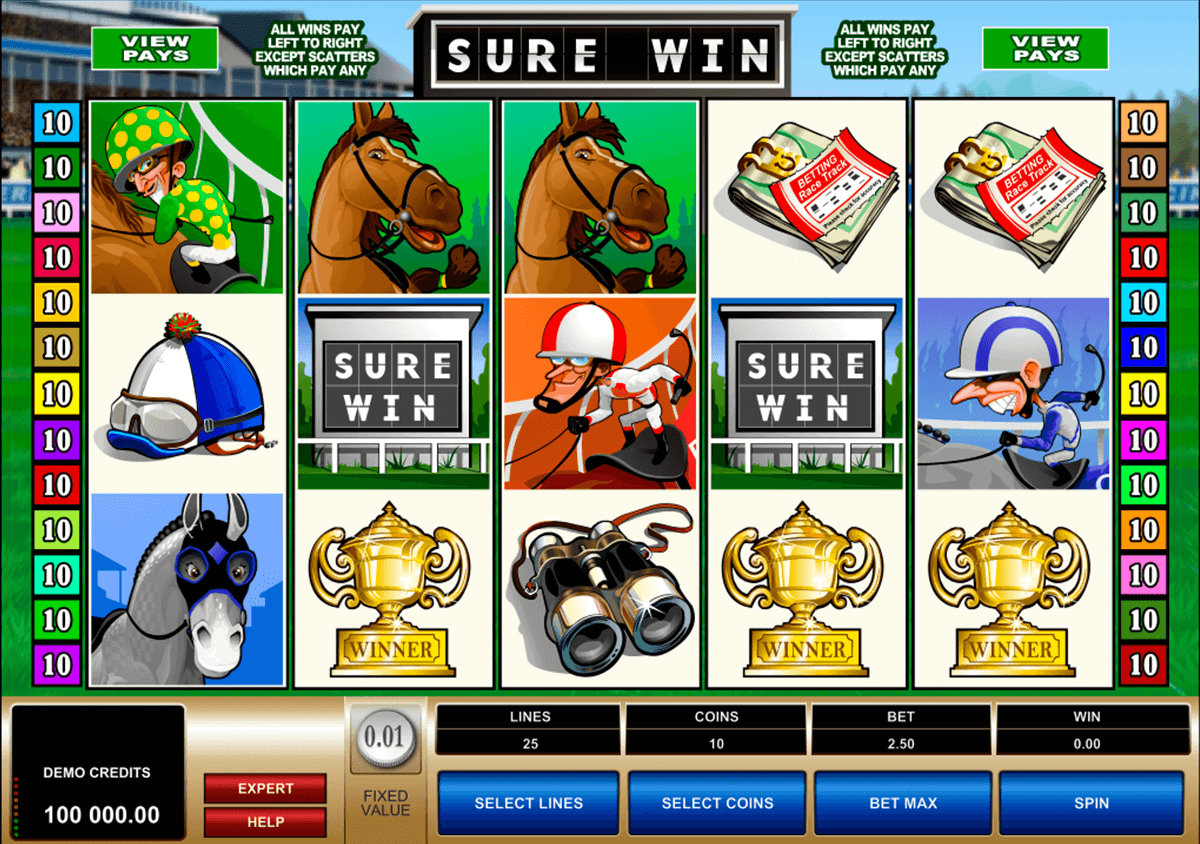 sure win microgaming casino slot spel