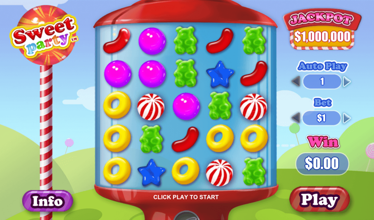 sweet party playtech casino slot spel