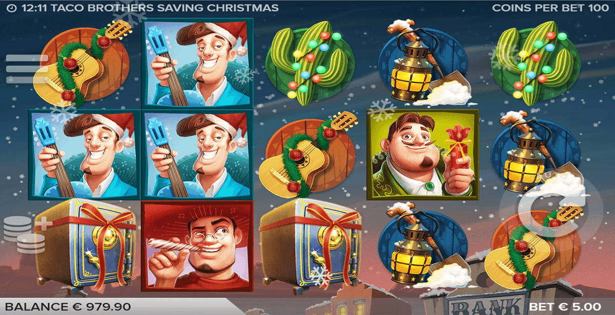 taco brothers saving christmas elk casino slot spel