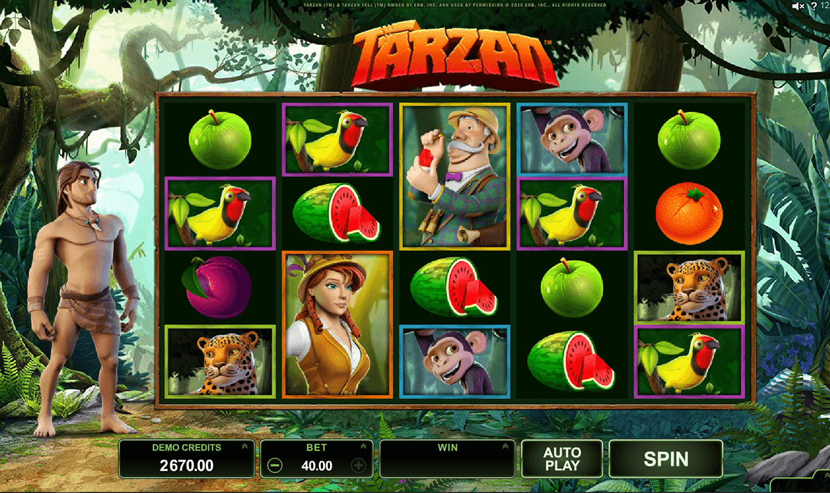 tarzan microgaming casino slot spel