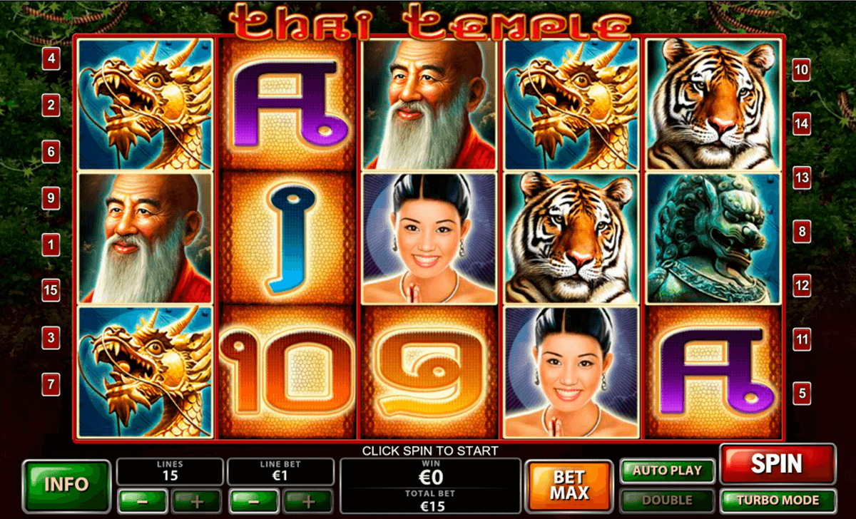 thai temple playtech casino slot spel