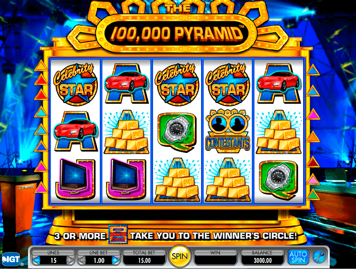 the 100000 pyramid igt casino slot spel