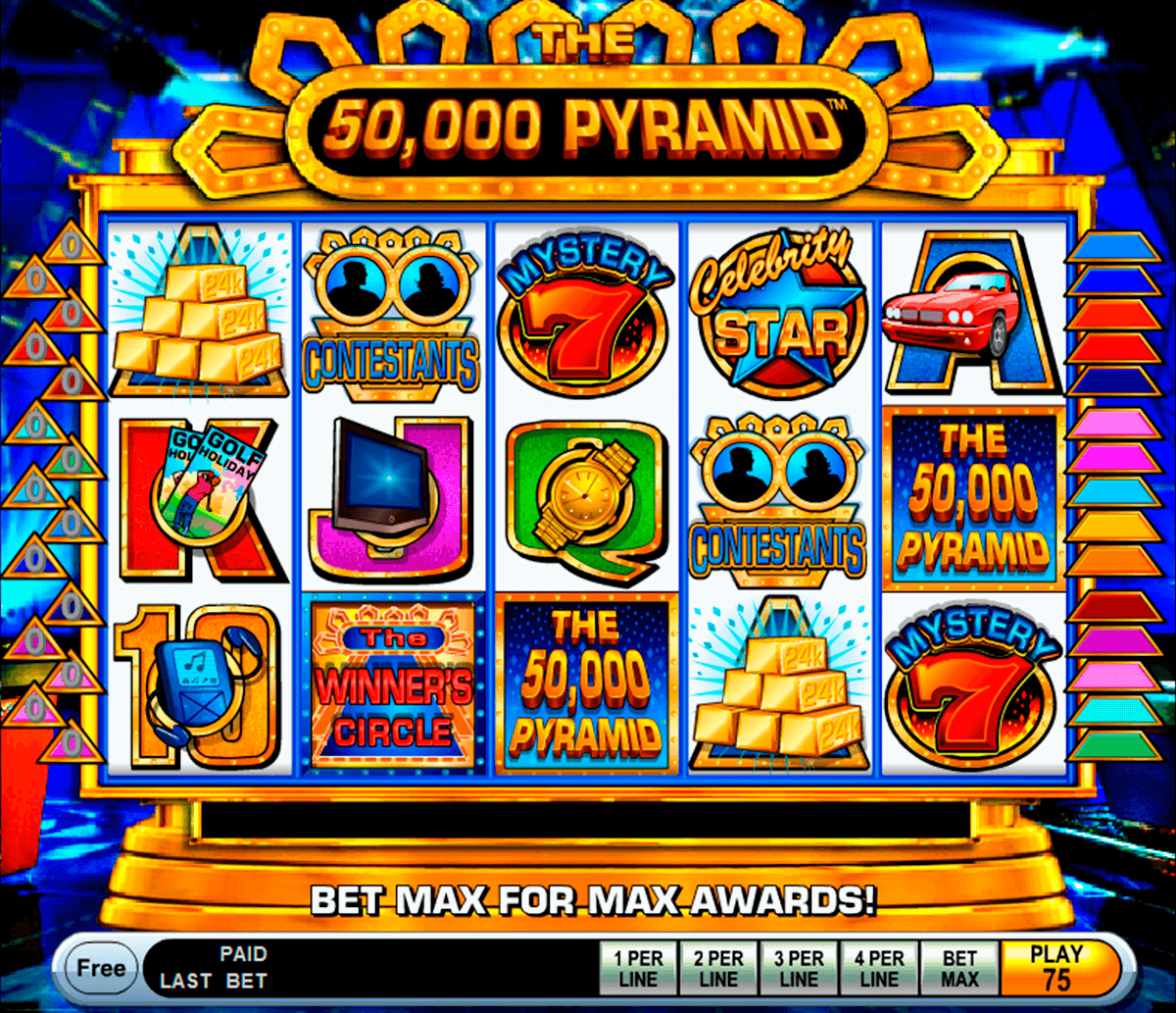 the 50000 pyramid igt casino slot spel