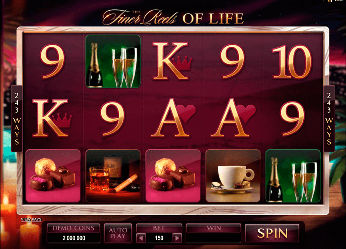 the finer reels of life microgaming casino slot spel