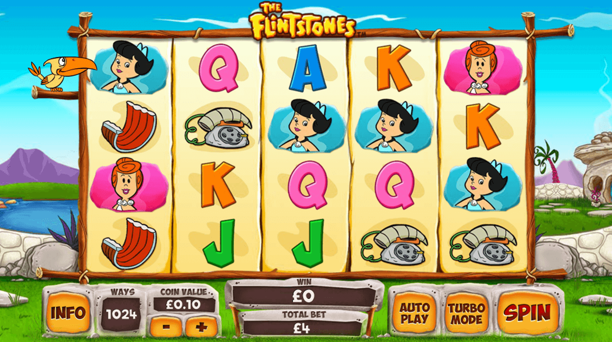 the flintstones playtech casino slot spel
