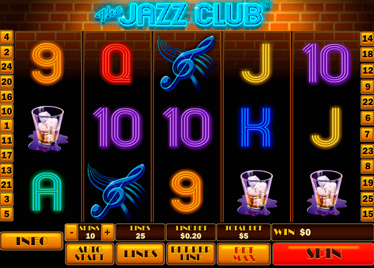 the jazz club playtech casino slot spel