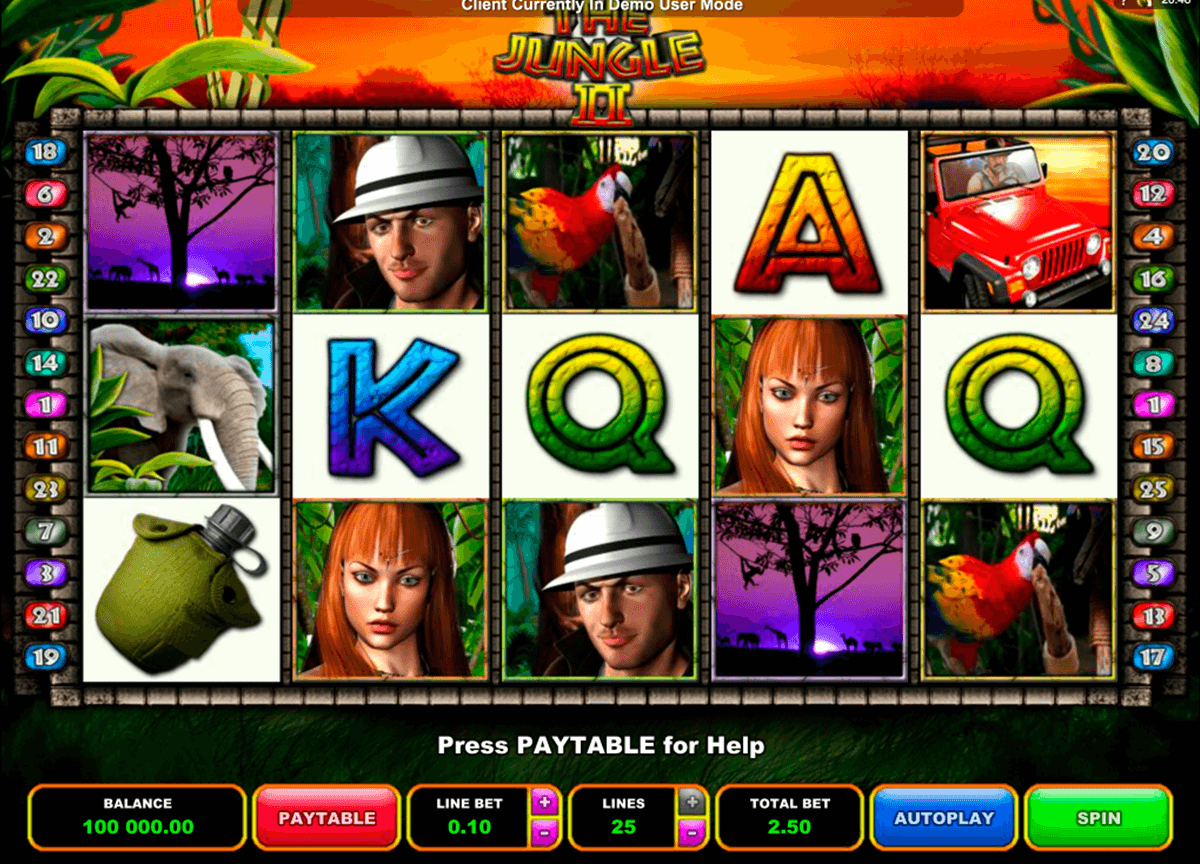 the jungle ii microgaming casino slot spel