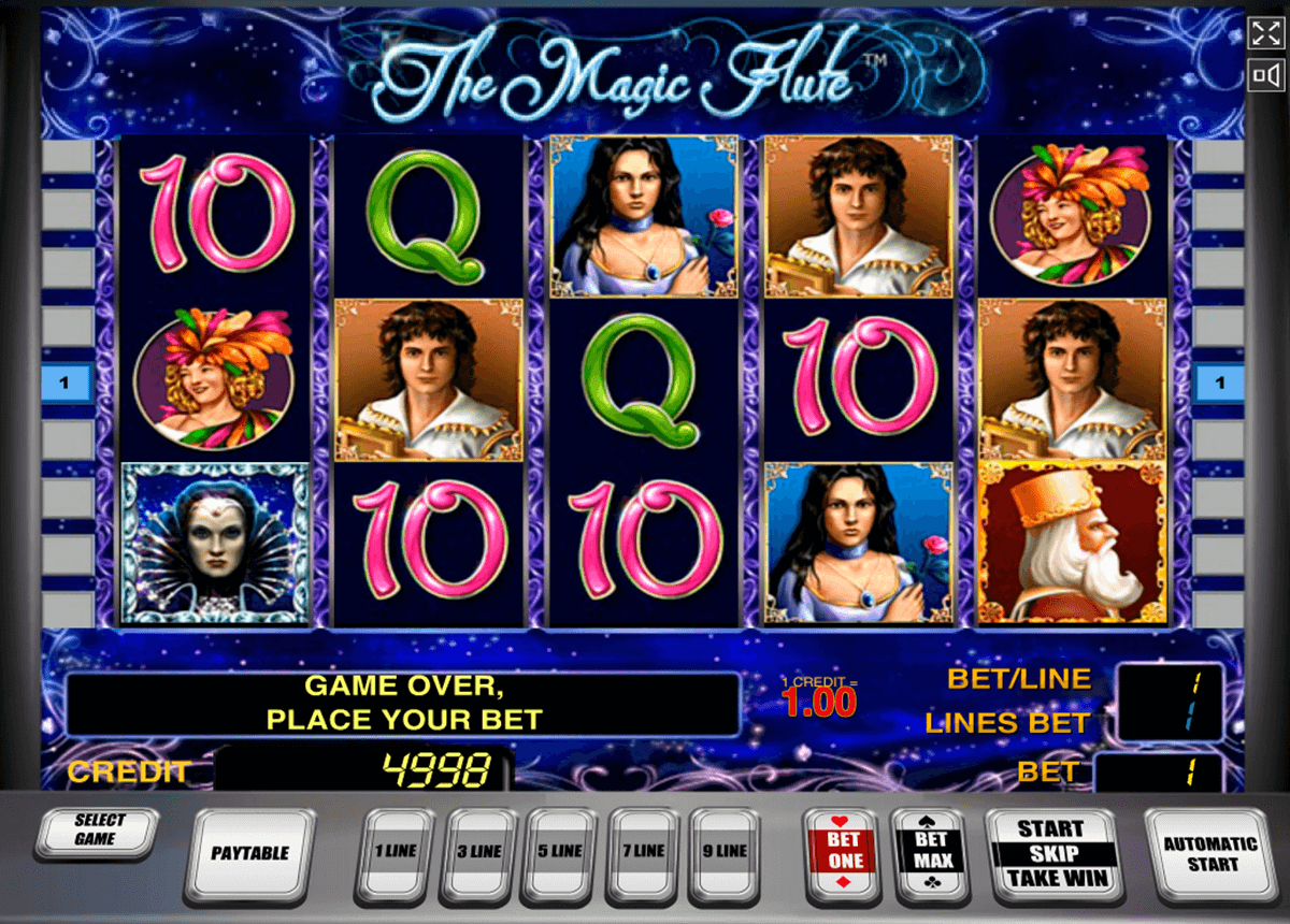 the magic flute novomatic casino slot spel