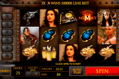 the mummy playtech casino slot spel