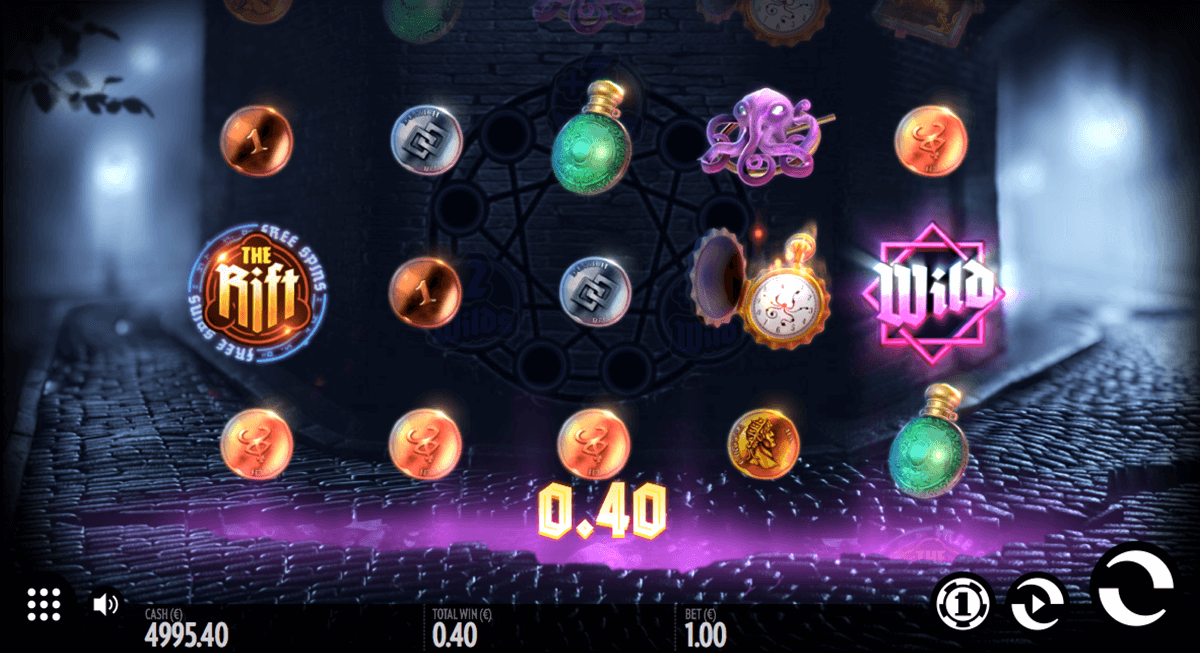 the rift thunderkick casino slot spel