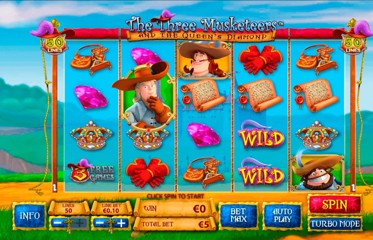 the three musketeers playtech casino slot spel