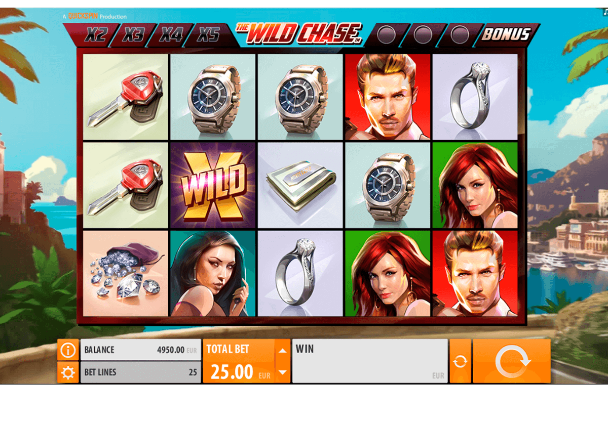 the wild chase quickspin casino slot spel