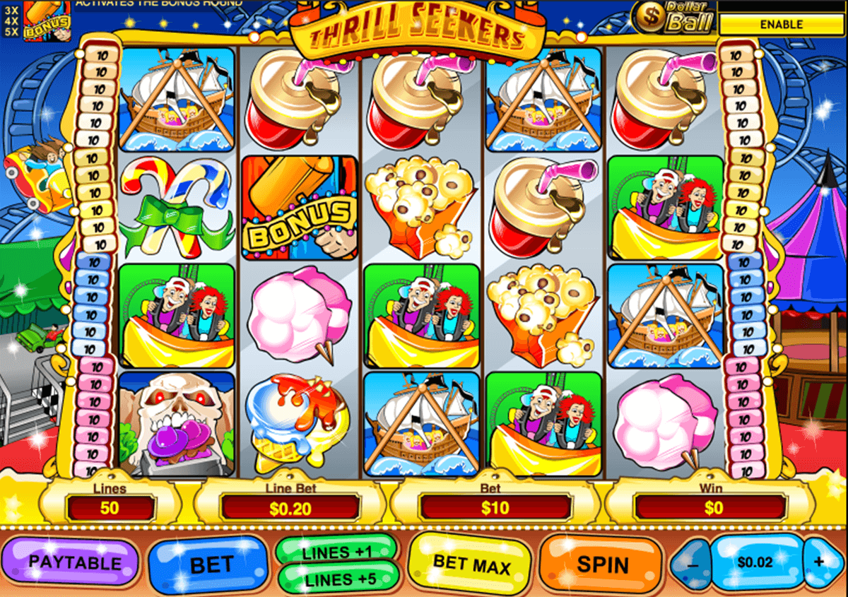 thrill seekers playtech casino slot spel