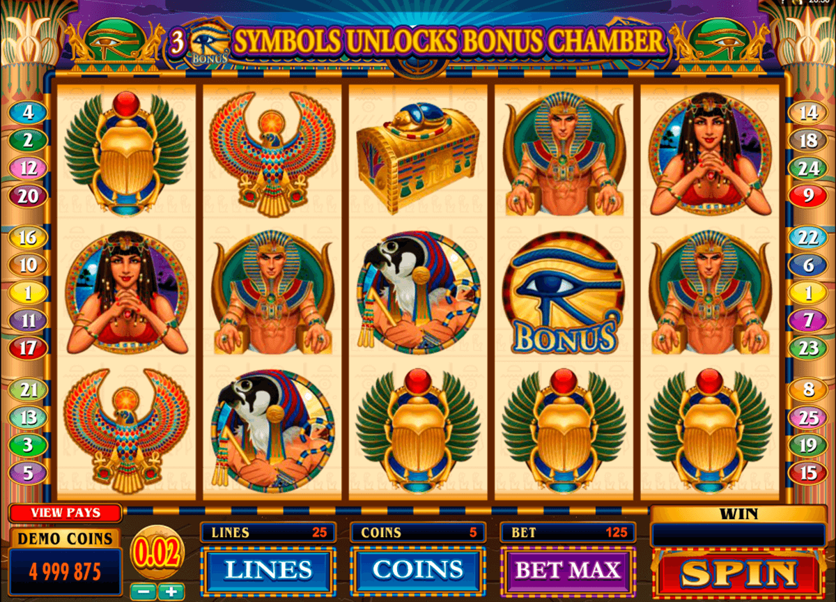throne of egypt microgaming casino slot spel