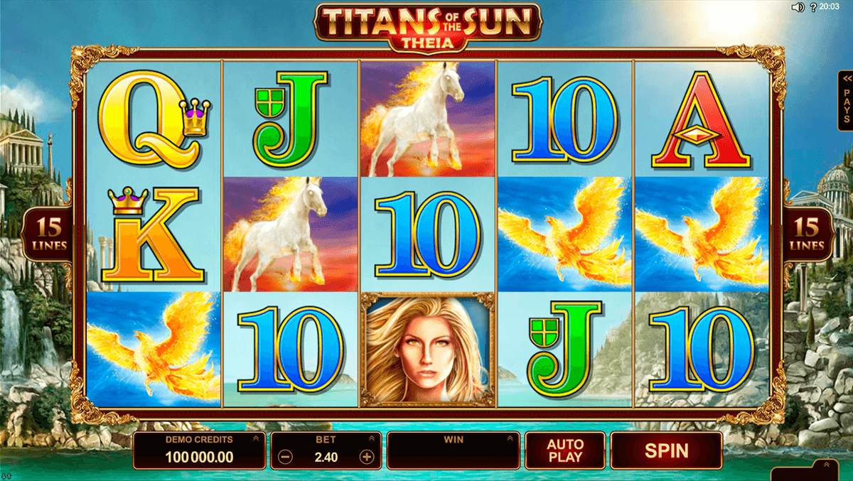 titans of the sun theia microgaming casino slot spel
