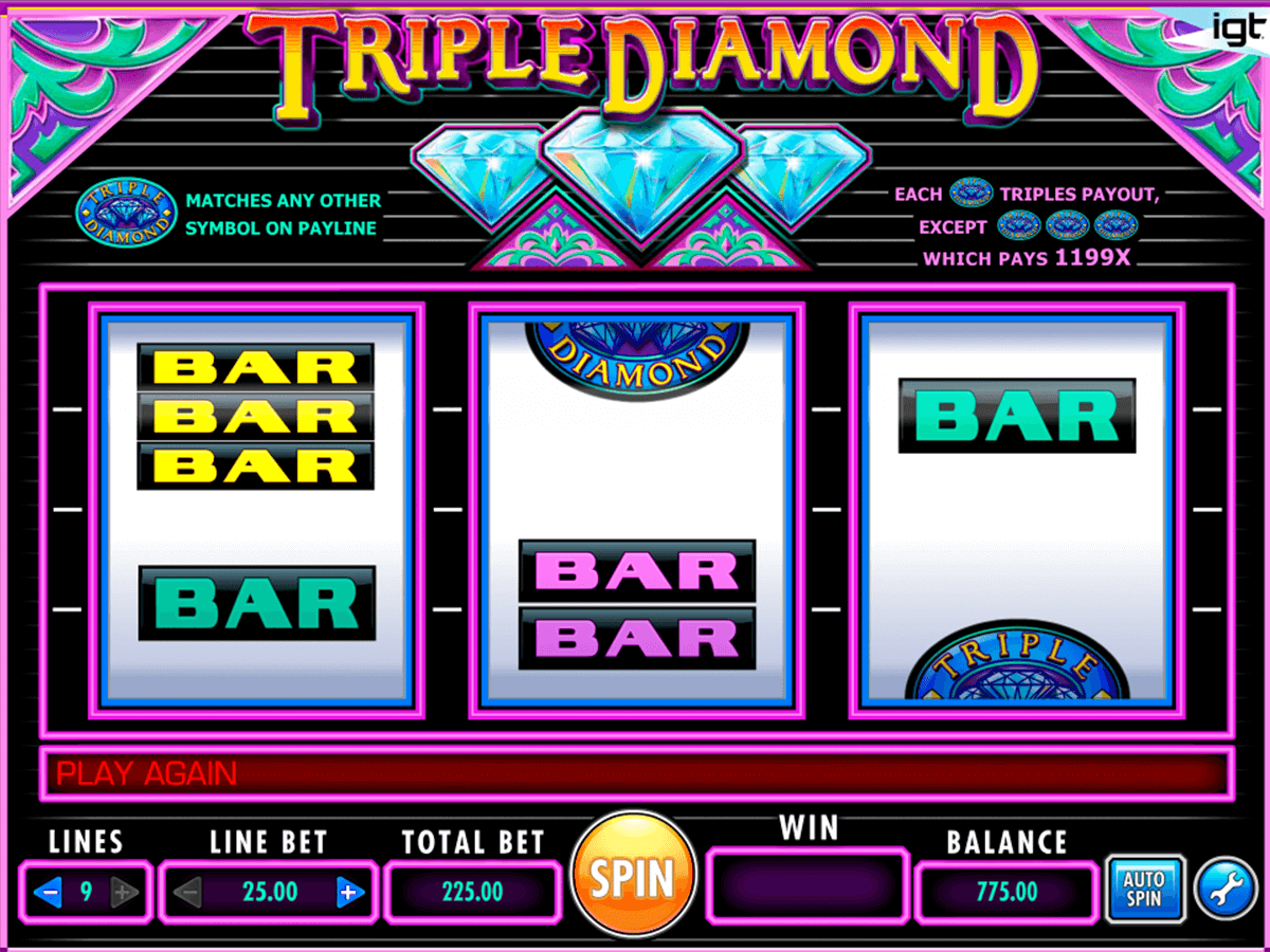 triple diamond igt casino slot spel