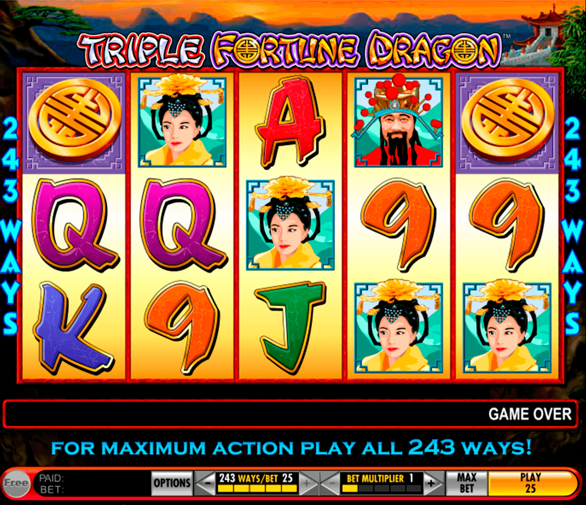 triple fortune dragon igt casino slot spel