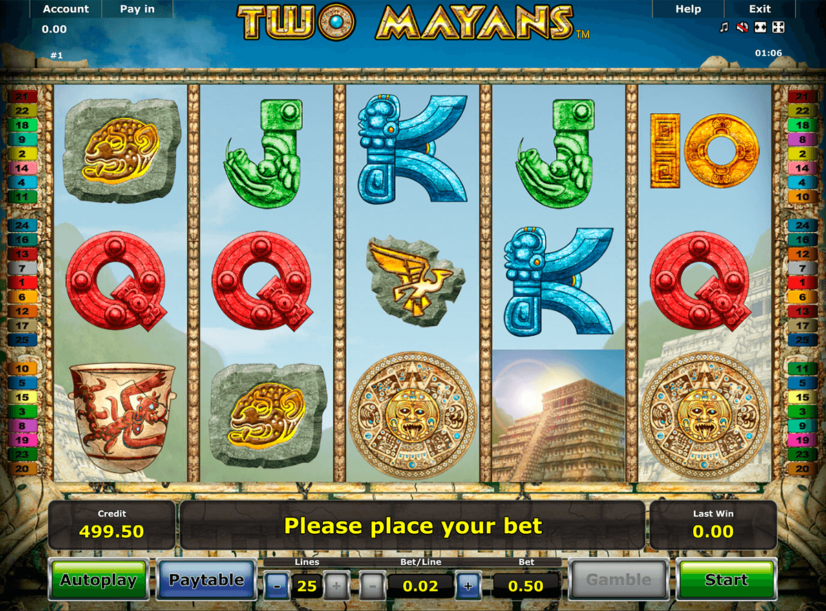 two mayans novomatic casino slot spel