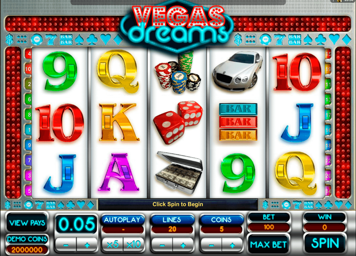 vegas dreams microgaming casino slot spel