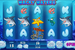 wacky waters playtech casino slot spel