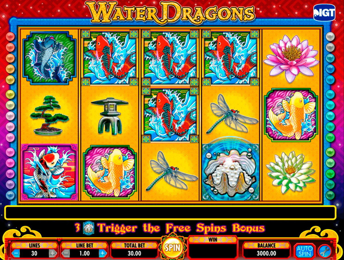 water dragons igt casino slot spel