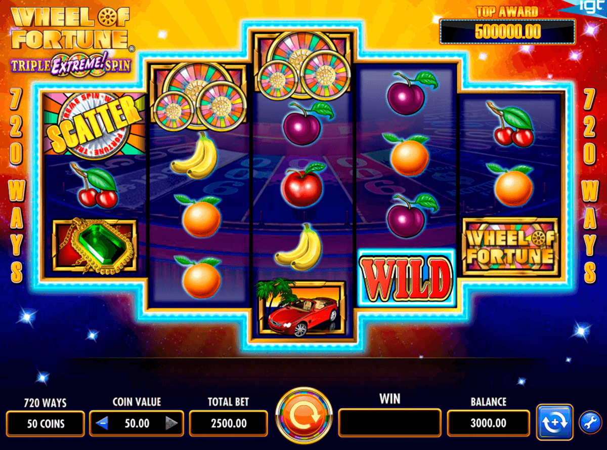 wheel of fortune igt casino slot spel