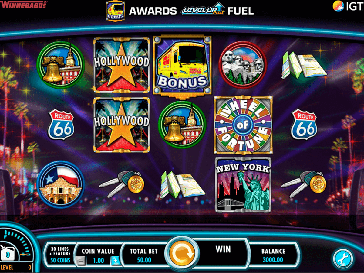 wheel of fortune on tour igt casino slot spel