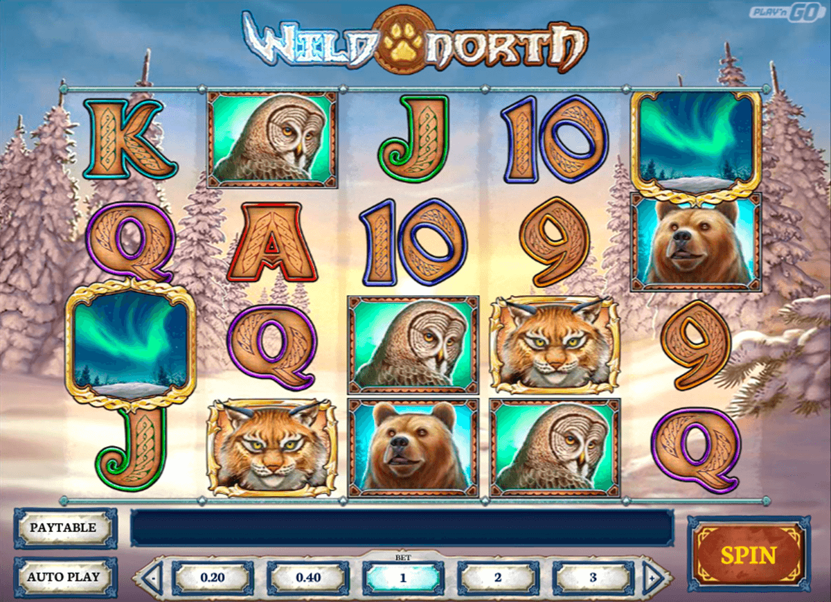wild north playn go casino slot spel