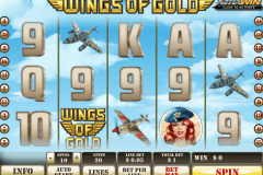 wings of gold playtech casino slot spel