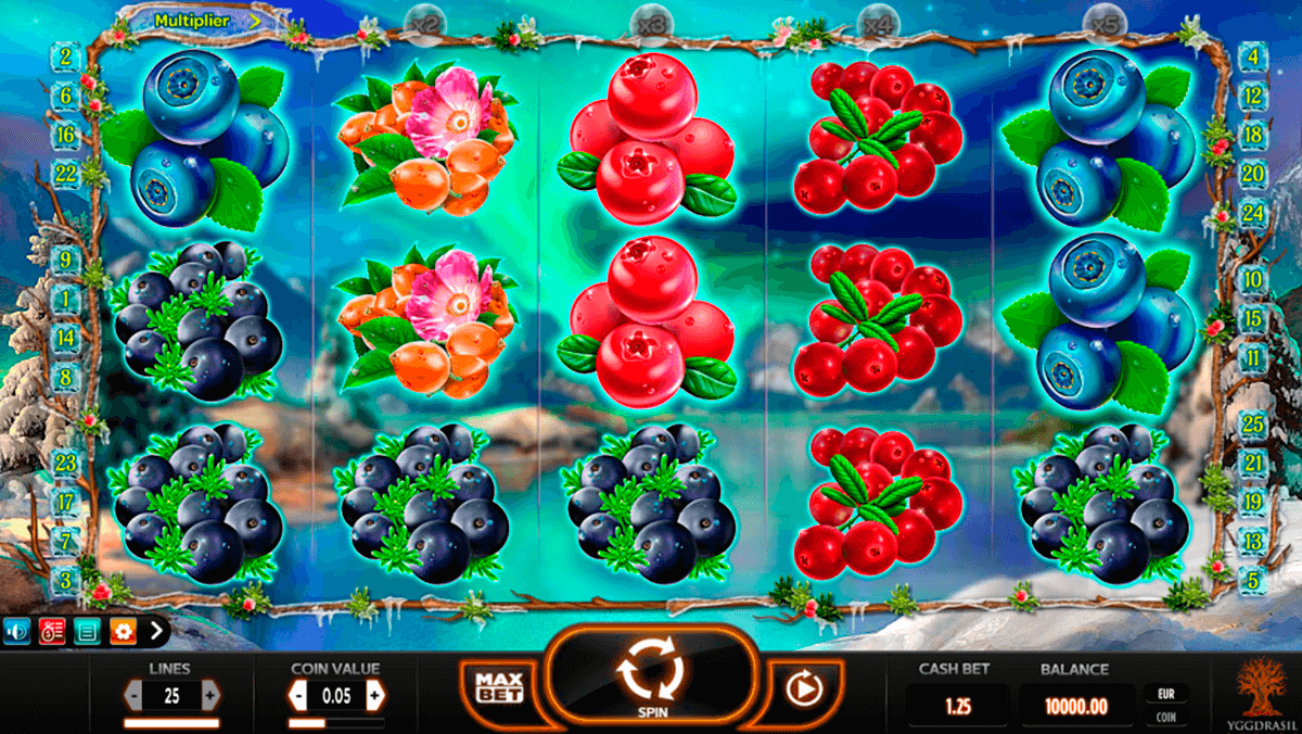 winterberries yggdrasil casino slot spel