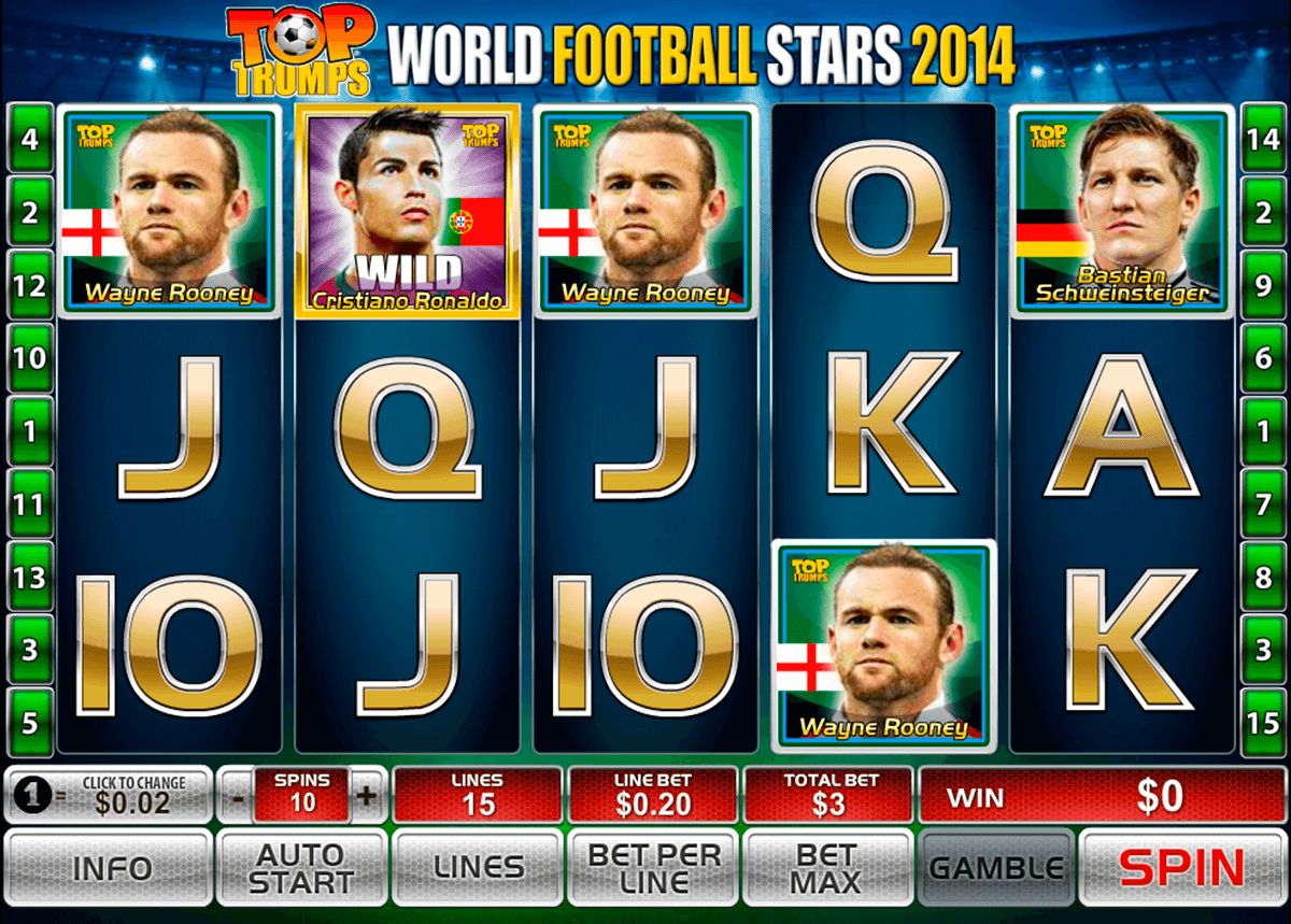 world football stars 2014 playtech casino slot spel