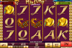 wu long jackpot playtech casino slot spel