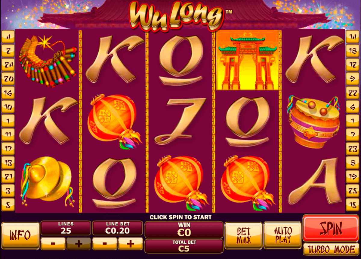 wu long playtech casino slot spel
